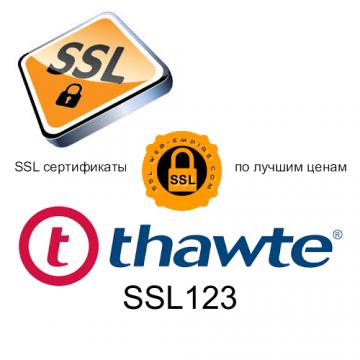 Thawte SSL123